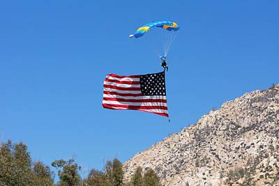 Photograph - Sky Flag by John Swartz