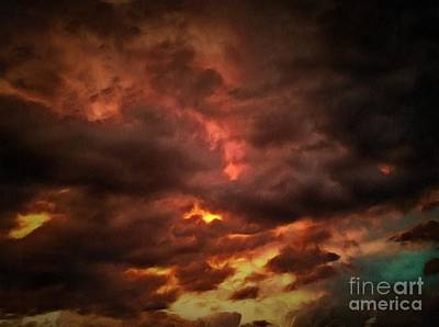 Photograph - Sky Fury by Krissy Katsimbras