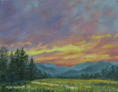 Painting - Sky Glow # 2 by Kathleen McDermott