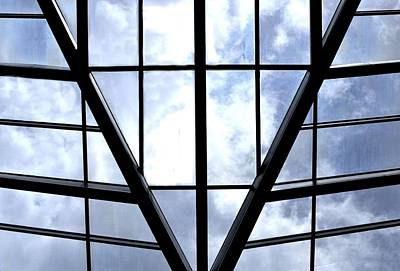 Photograph - Sky Grid by Nadalyn Larsen