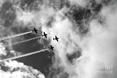 Photograph - Sky High - Vintage Planes by Jane Eleanor Nicholas
