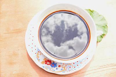 Sky In A Cup Art Print by Diliana Kiryakova