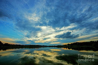 Photograph - Sky In Water by David Arment