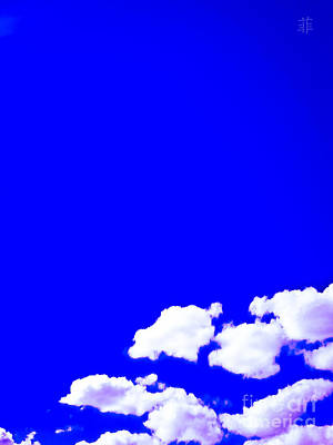 Photograph - Sky Is Blue by Fei Alexander