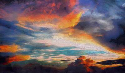Painting - Sky by Lelia DeMello