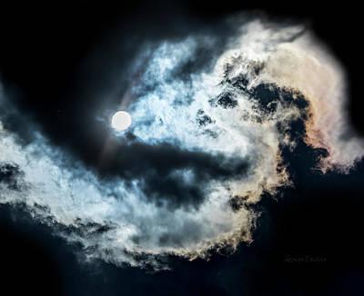 Photograph - Sky Life Nebular by Steven Poulton
