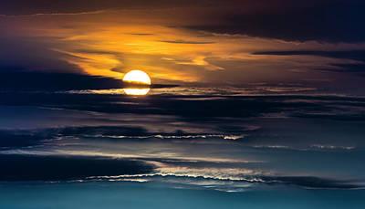 Photograph - Sky Life Setting by Steven Poulton
