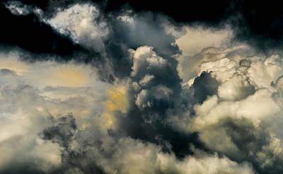 Photograph - Sky Life Thunder Sky by Steven Poulton