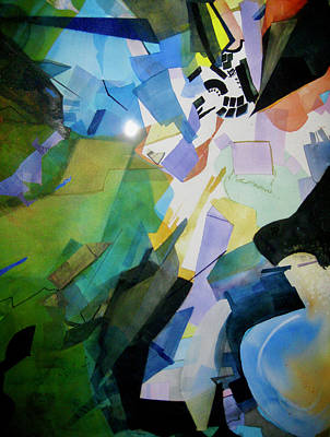 Painting - Sky Light by Carole Johnson