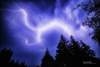 Photograph - Sky Lightning by Charlie Duncan