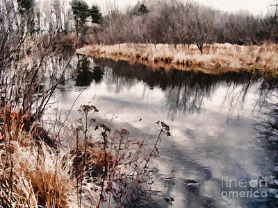 Sky Low Art Print by Betsy Zimmerli