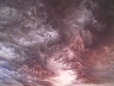 Mixed Media - Sky Moods - Calling The Elements Together by Glenn McCarthy Art and Photography