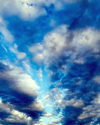 Photograph - sky by Niki Mastromonaco