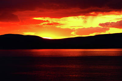 Photograph - Sky Of Fire by Aidan Moran