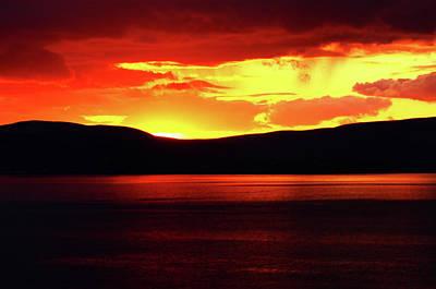 Photograph - Sky Of Fire by Aidan Moran