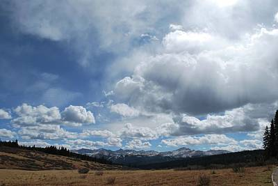 Photograph - Sky Of Shrine Ridge Trail by Amee Cave