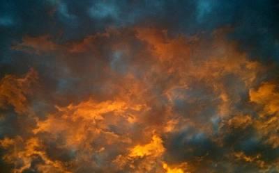 Wall Art - Photograph - Sky On Fire by Linda Wimberly