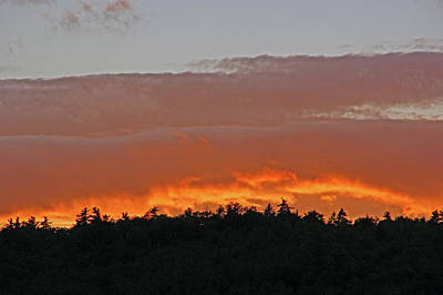 Photograph - Sky On Fire by Lynda Lehmann