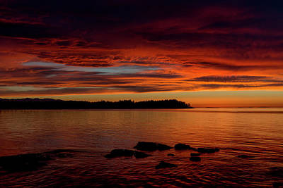 Photograph - Sky On Fire by Randy Hall