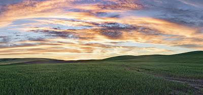Photograph - Sky On The Palouse by Jon Glaser