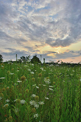 Photograph - Sky Opens Up Over Pleasant Valley Conservation Area by Ray Mathis