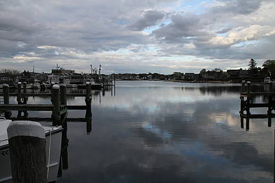 Photograph - Sky Over Marina by Rebecca Powers