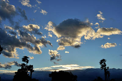 Photograph - Sky Over Sky Valley by Diane Lent