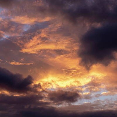 Photograph - Sky Patterns At Sunset by Sally Sperry