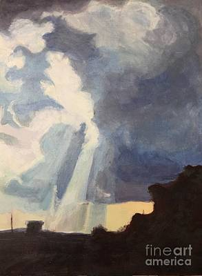 Painting - Sky Portal I by Carol Oufnac Mahan