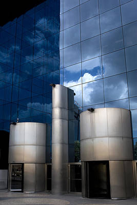 Photograph - Sky Reflected by Lorraine Devon Wilke