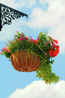 Port Chester Photograph - Sky Scape Basket by Diana Angstadt