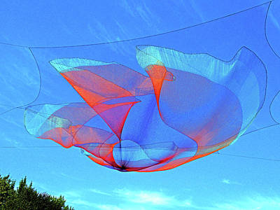 Photograph - Sky Sculpture 2 by Ron Kandt
