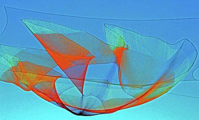 Photograph - Sky Sculpture 3 by Ron Kandt