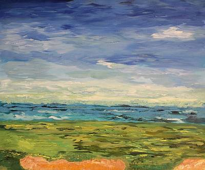 Painting - Sky, Sea And Golf  by Geeta Biswas