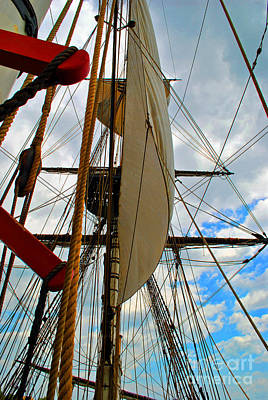 Moet Wall Art - Photograph - Sky Ship by Jost Houk