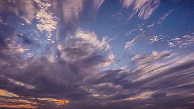 Photograph - Sky Smeared by Alistair Lyne