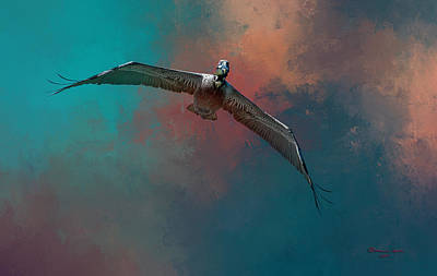 Soaring Photograph - Sky Soaring by Marvin Spates