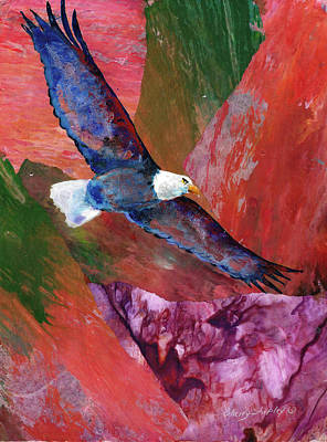 Painting - Sky Spirit Collage by Sherry Shipley