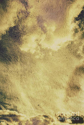 Sky Texture Background Art Print by Jorgo Photography - Wall Art Gallery