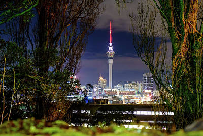 Photograph - Sky Tower by Jose Maciel