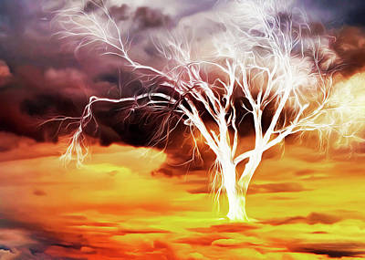 Photograph - Sky Tree by Munir Alawi