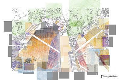 Digital Art - Skyblock by Deborah Nakano