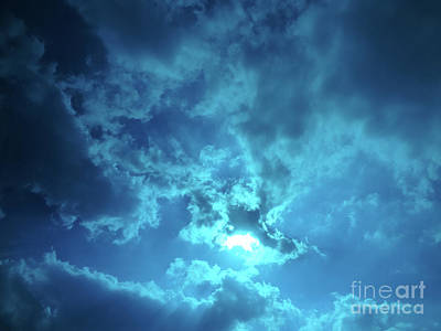 Photograph - Skybreak by Gem S Visionary