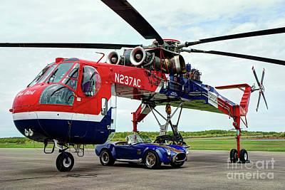Photograph - Skycrane And Cobra by Rick Mann