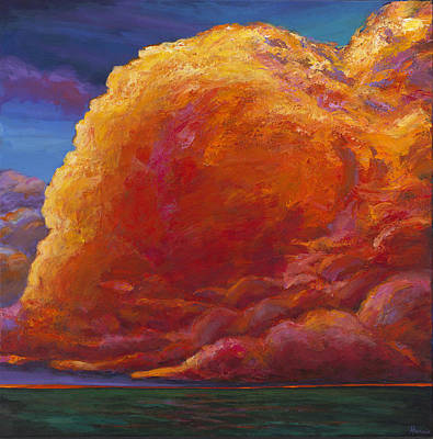 Cheerful Painting - Skydance by Johnathan Harris