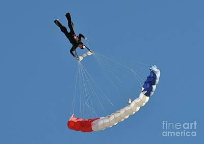 Photograph - Skydiving by Savannah Gibbs