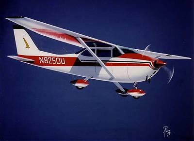 Wall Art - Painting - Skyhawk by Peter Ring Sr