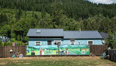 Photograph - Skykomish Mural by Tom Cochran
