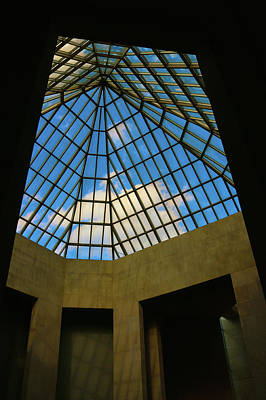 Photograph - Skylight In The Met by Polly Castor