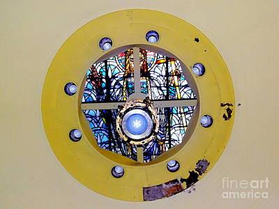 Photograph - Skylight Jesus by Ed Weidman